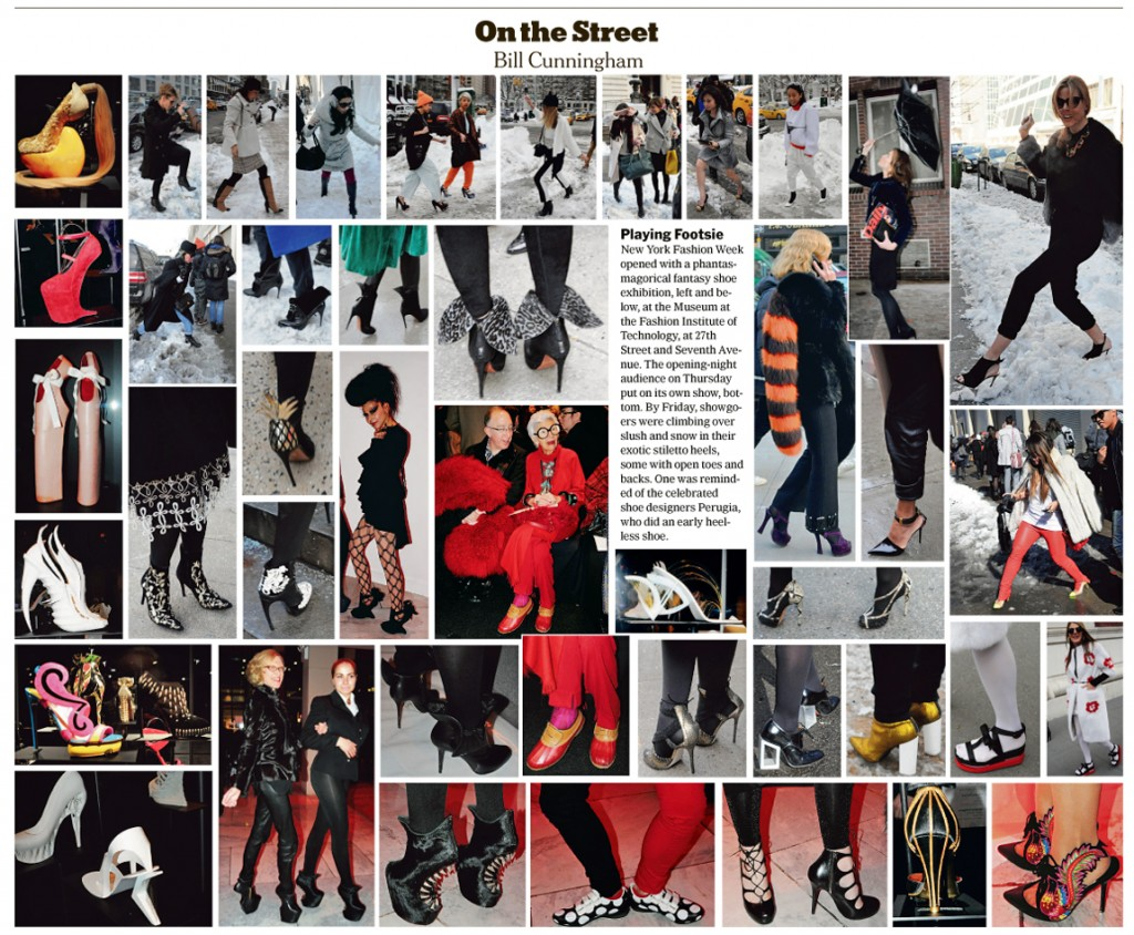 Bill Cunningham's On the Street in The New York Times