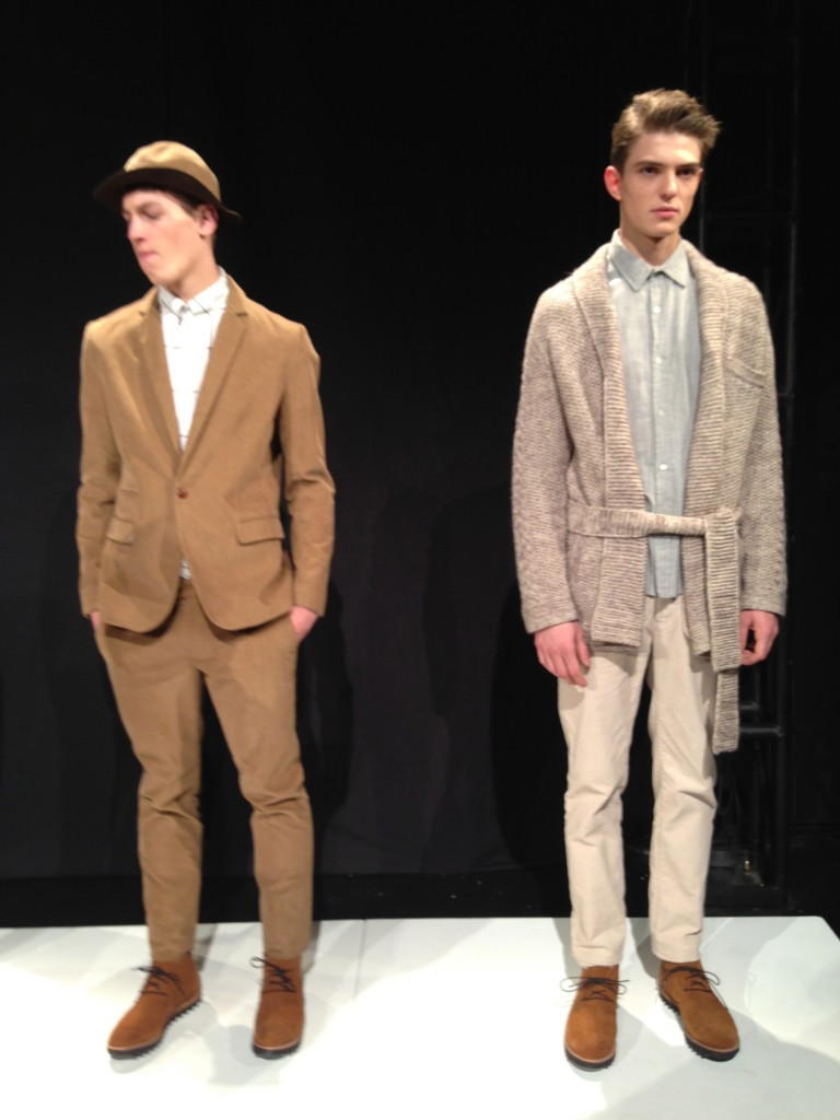 Neutrals and knits