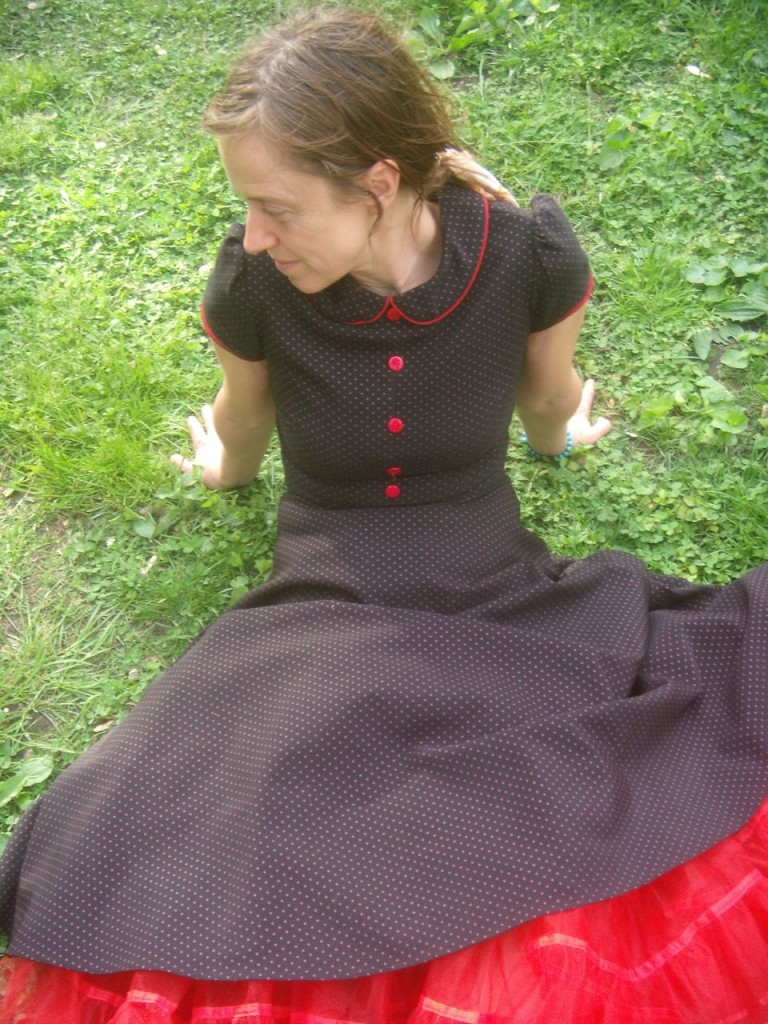 A very cool vintage dress