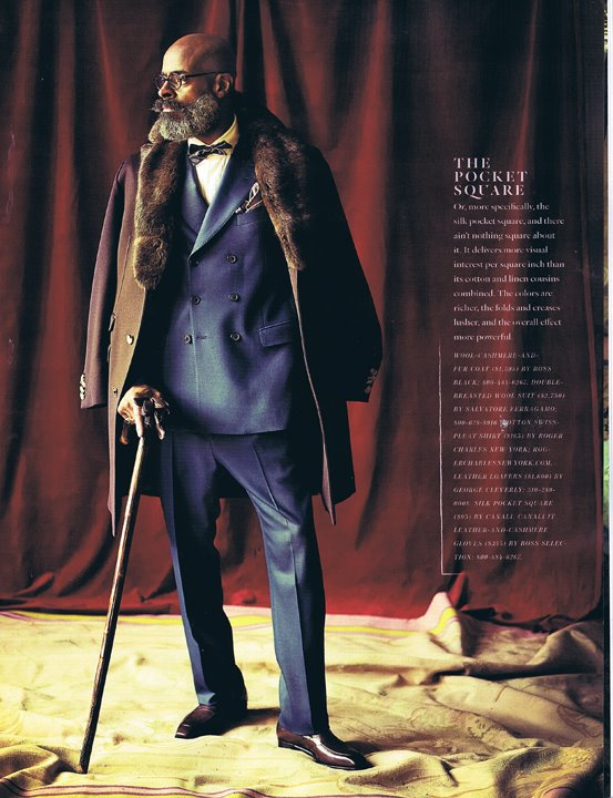 In Roger Charles New York in Esquire's Fall 2011 Black Book