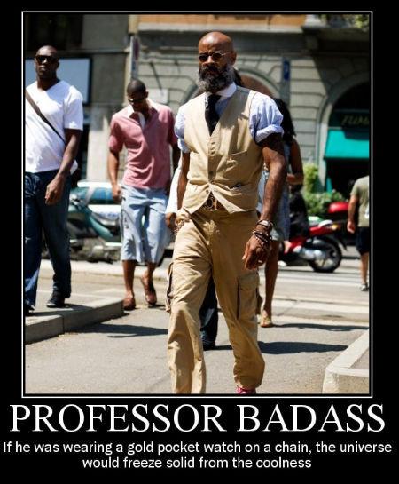 Kevin, a.k.a. Professor Badass