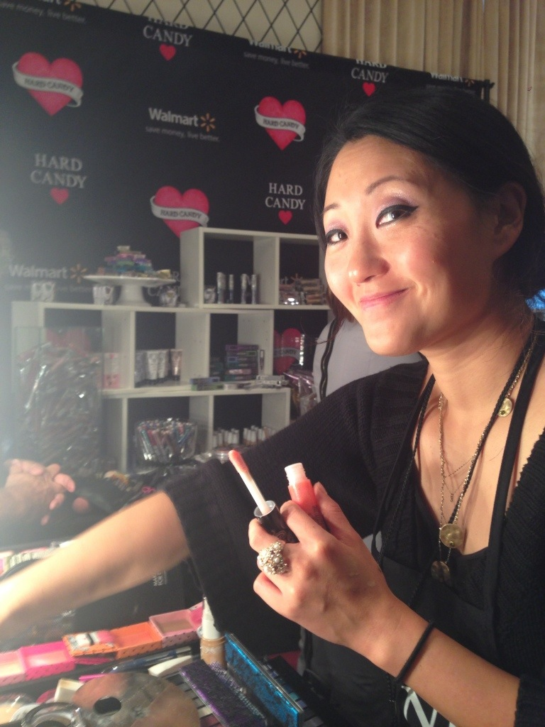 Hard Candy makeup artist, Irene Kim