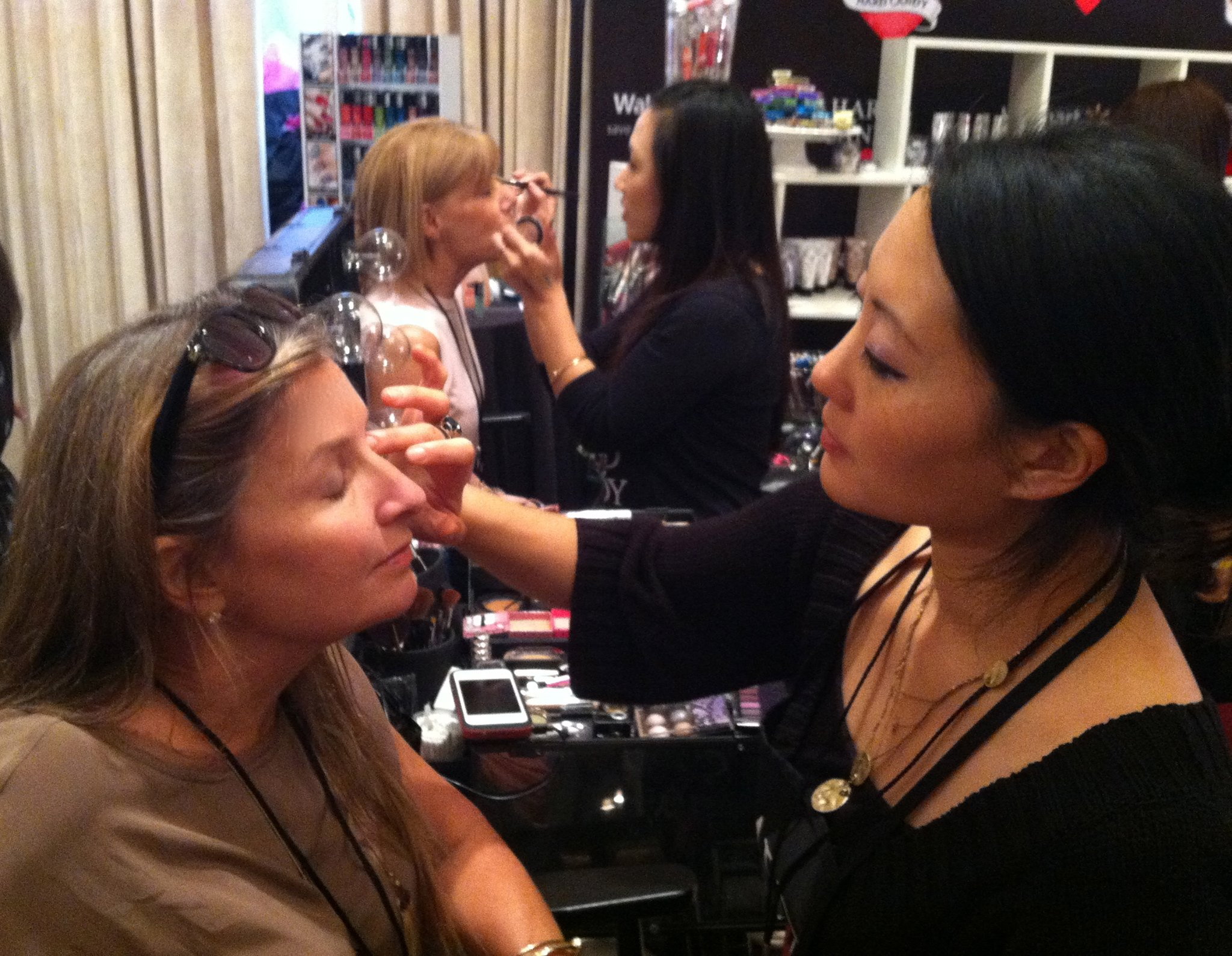Kim makeover at Hard Candy SS14