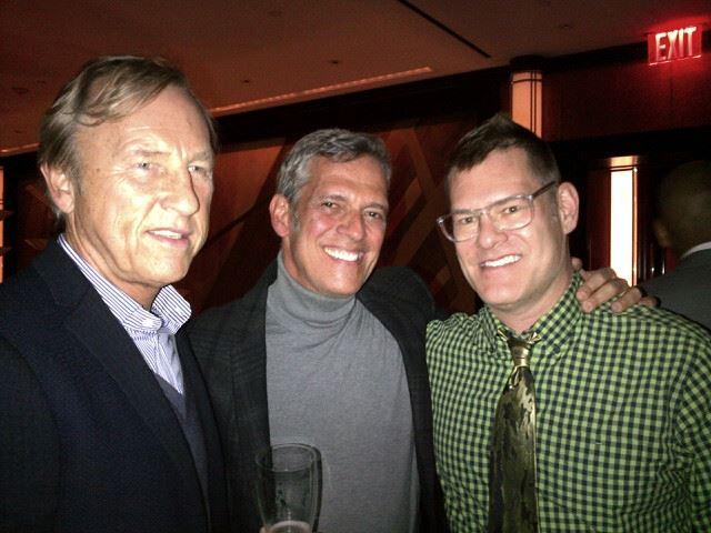Greg McCarthy, Gaspar Saldanha and John Bartlett. Photo Tom Julian.