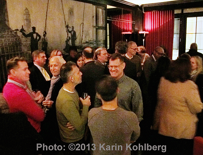 Photo by Karin Kohlberg. The MensWearNework at The Lambs Club at The Chatwal Hotel.