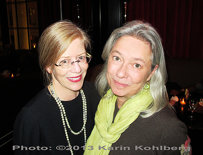 Joanne Siff with founder Holly Adam.