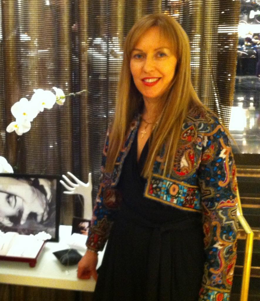 Designer Olga Viakhireva and her O'La Vi Charm Bracelets