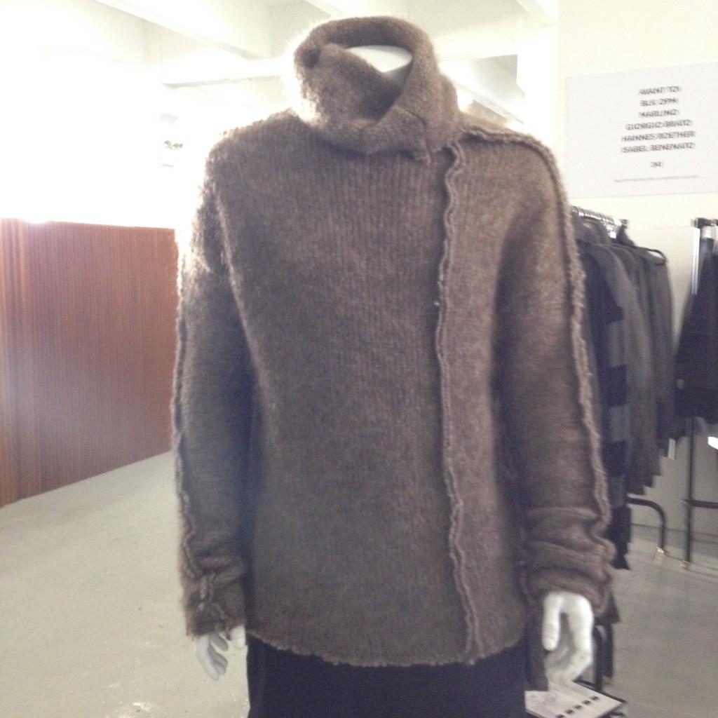 Simona Tagliaferri yak wool sweater