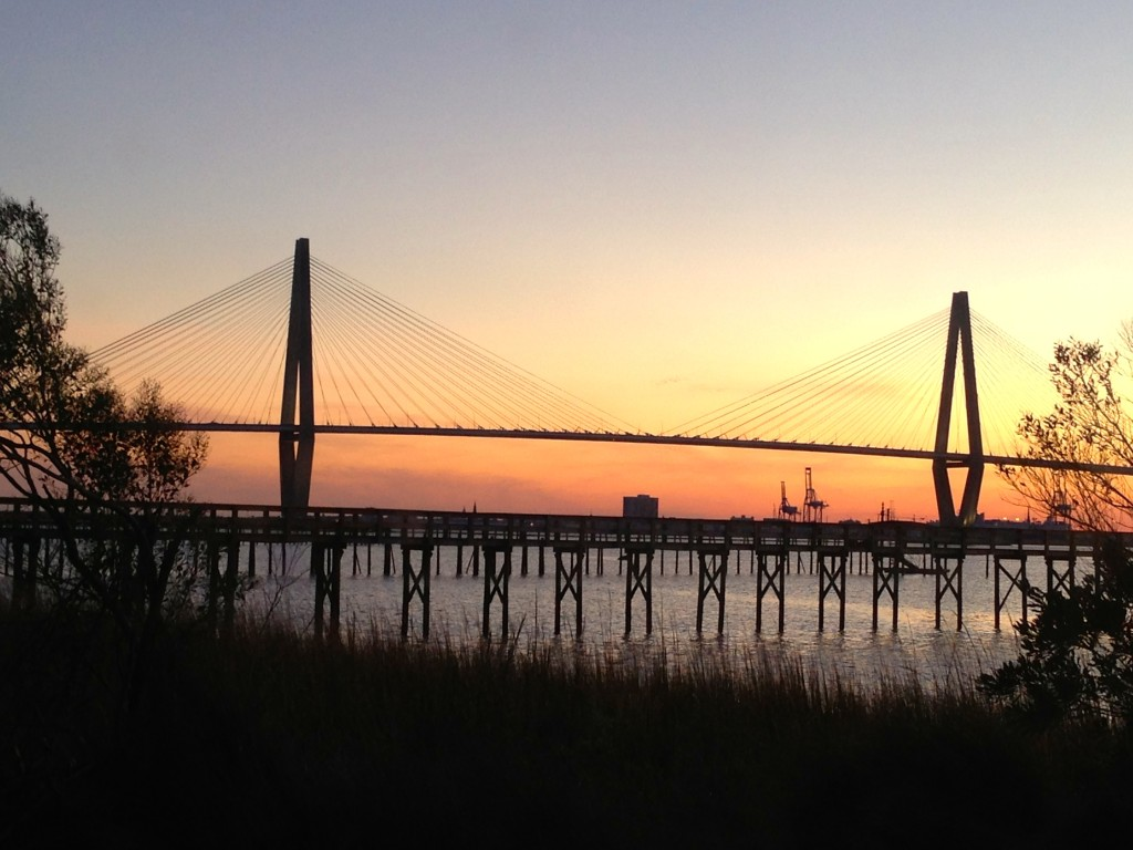 Cooper River Bridge Sunset. Photo by Kimberly Cihlar.
