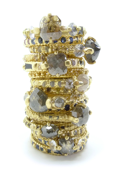Grey Diamond Stack