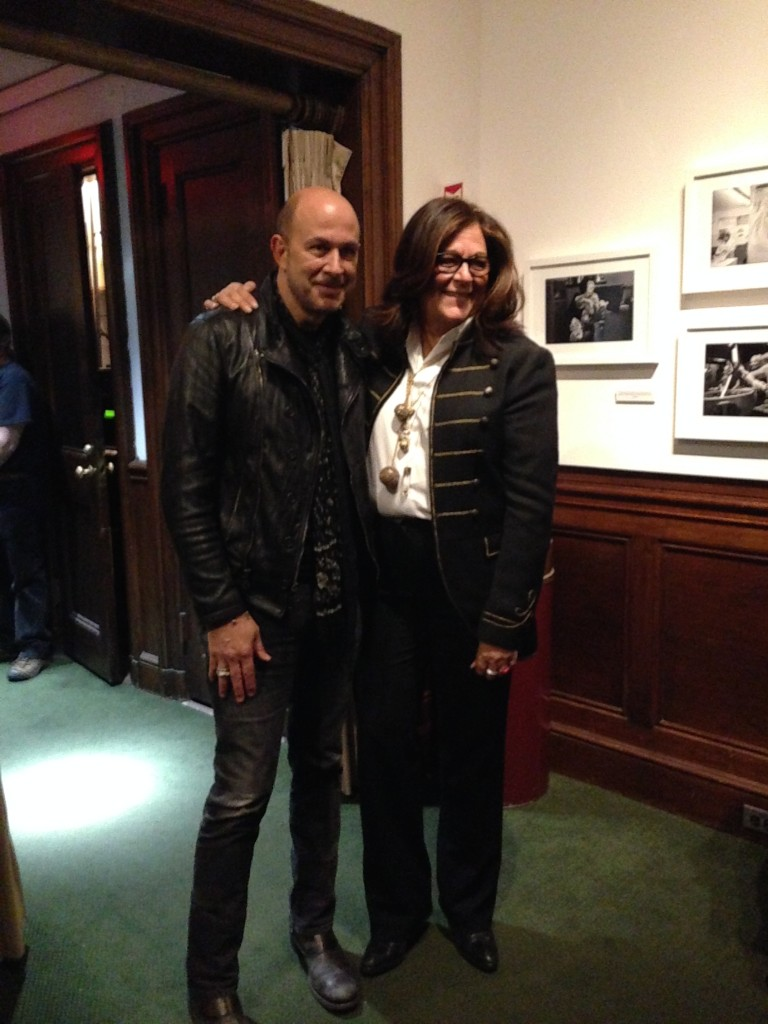 John Varvatos and Fern Mallis