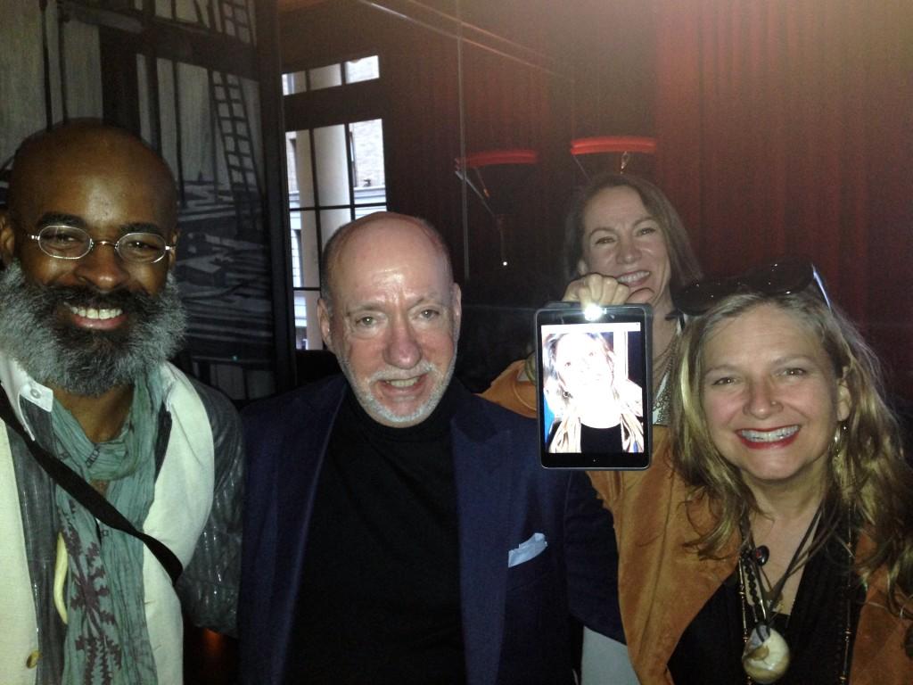 Kevin Stewart, MWN founder John Fowler, Theresa Hiner and Kim Cihlar