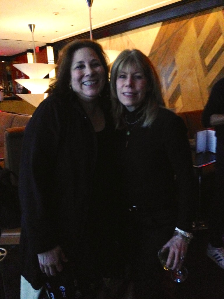 Joni Fiore and MWN co-founder Mary Ellen Baron