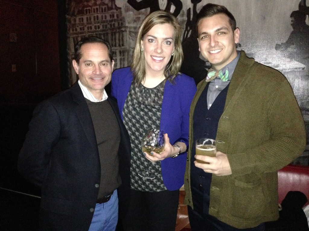 Tom with newcomers Amanda Mayeux and Rustin Steib