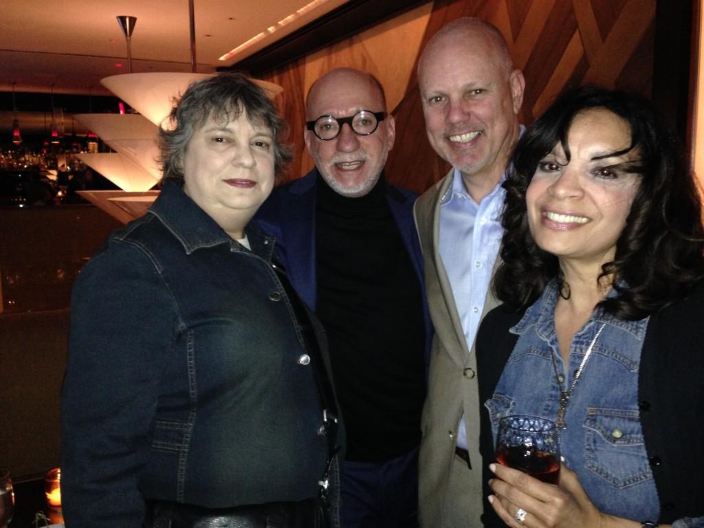 Elaine Gross, John Fowler, Jim Bresnahan and Margo Lewis