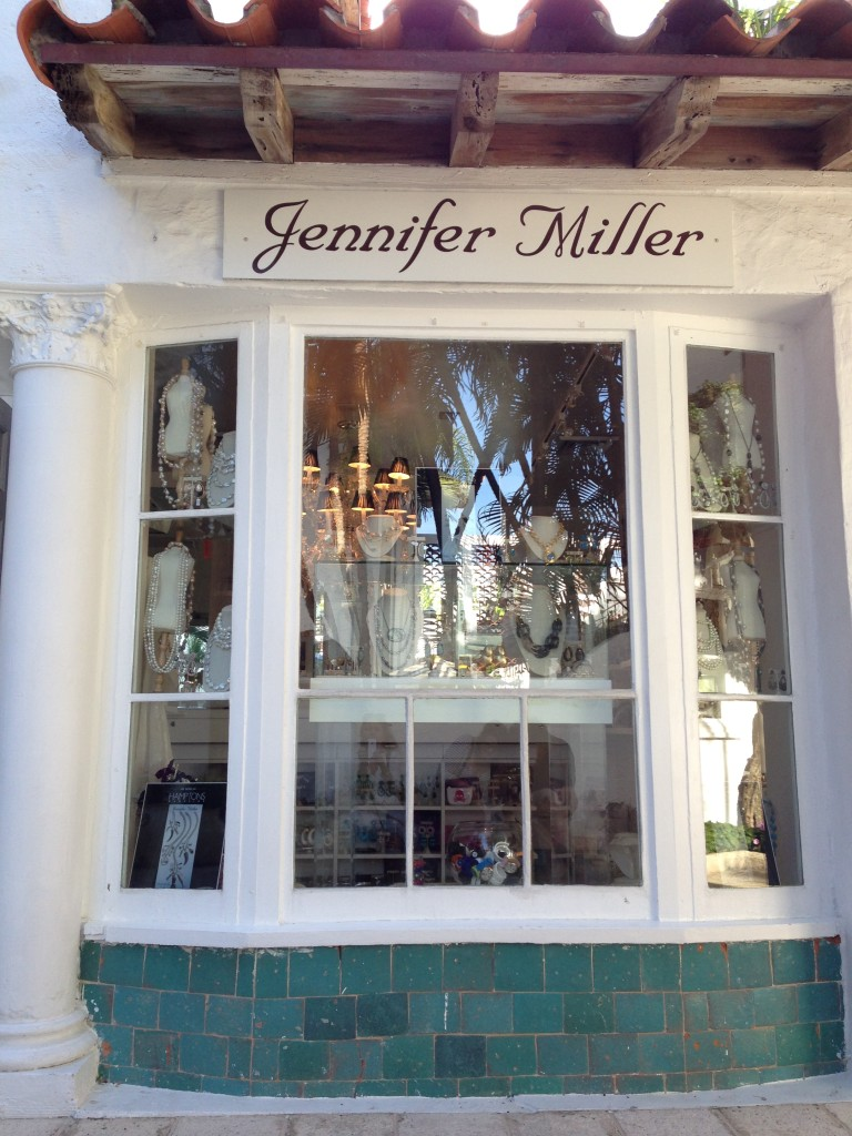 Jennifer Miller Palm Beach boutique on via Mizner
