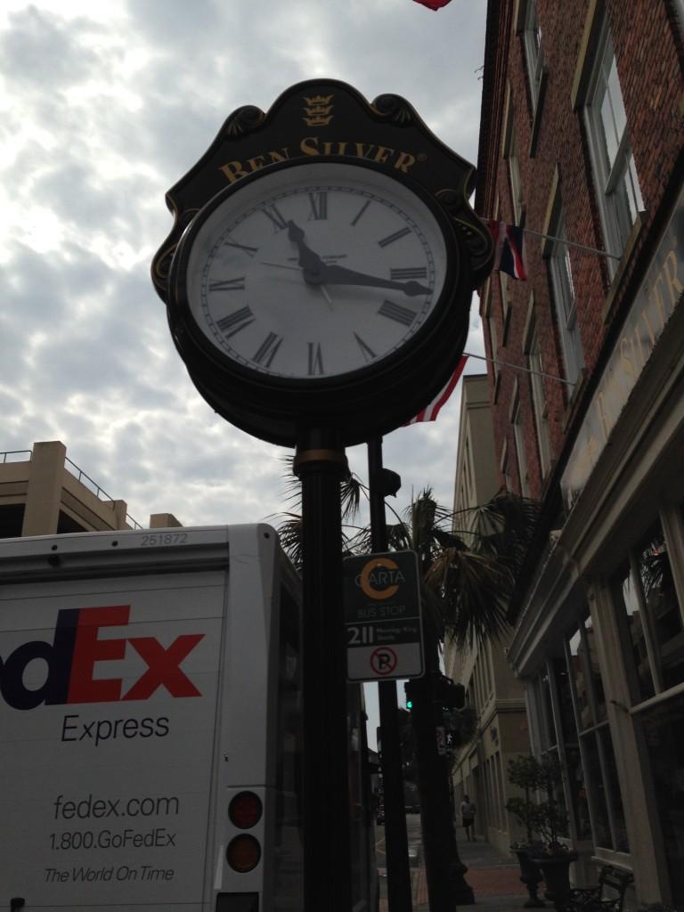 Ben Silver Clock King Street
