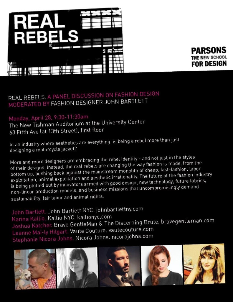 "Parsons Event ""Real Rebels"""
