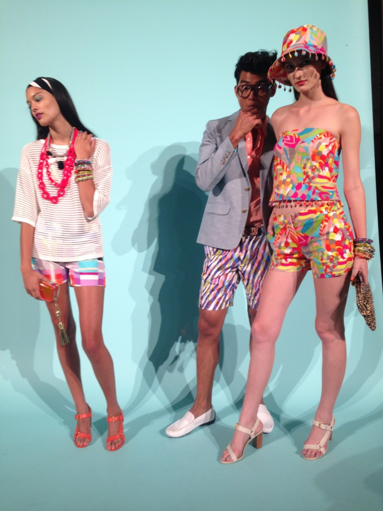 Trina Turk and Mr Turk SS15
