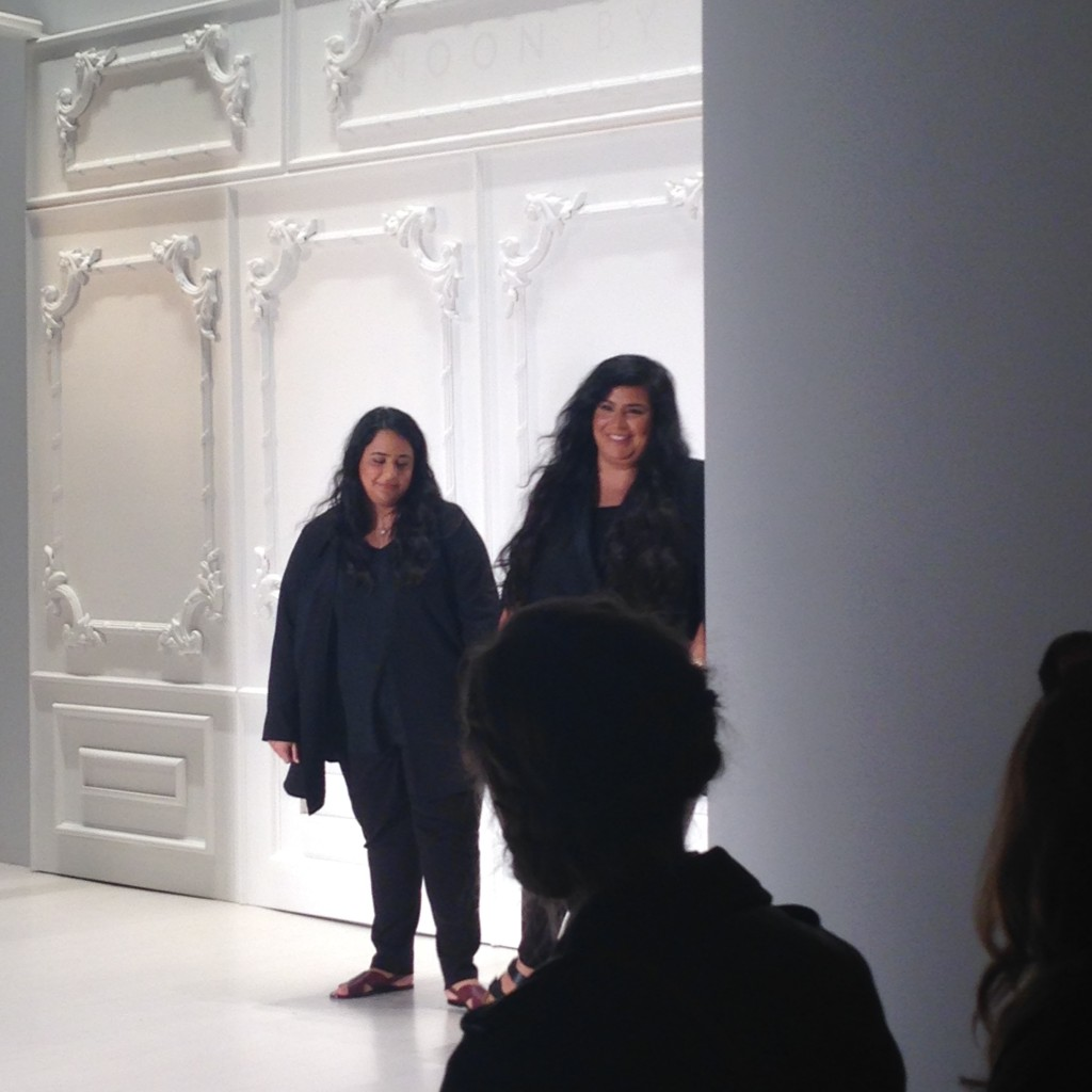 Designers Noor Al Khalifa and Haya Al Khalifa