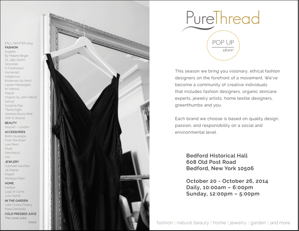 Pure Thread's deets