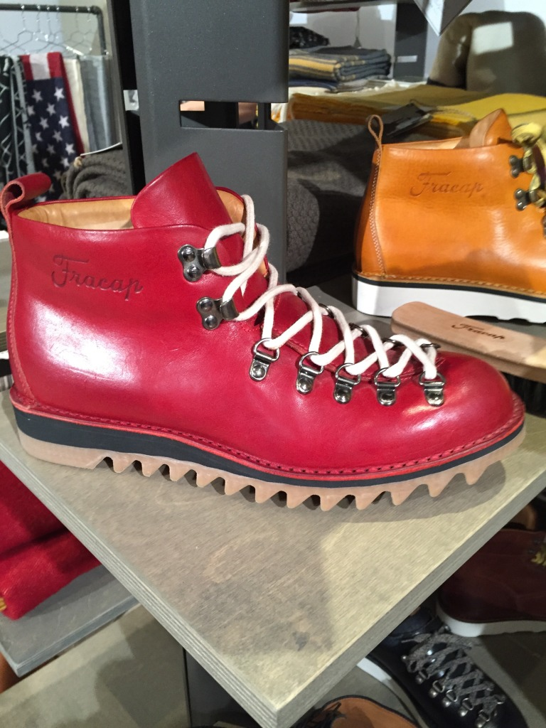 Fracap's military style snow boots, handmade in Italy