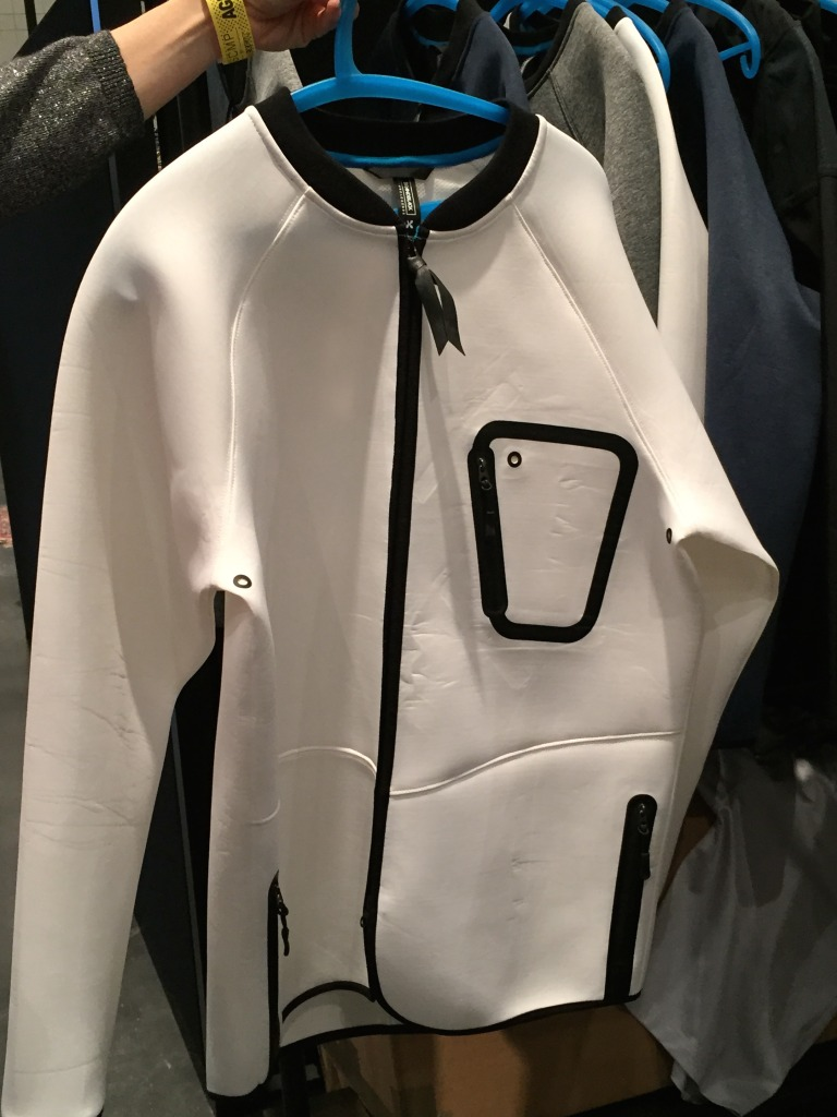 Like neoprene, but not Brandblack outerwear shirt