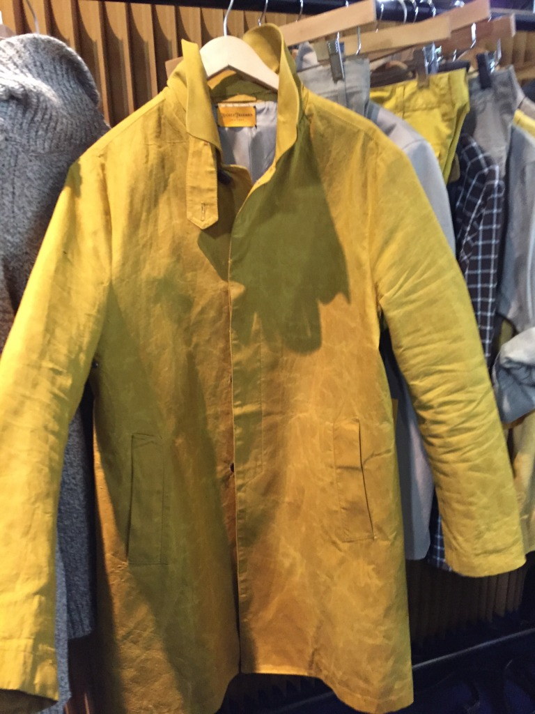 Hickey Freeman's modern rain gear