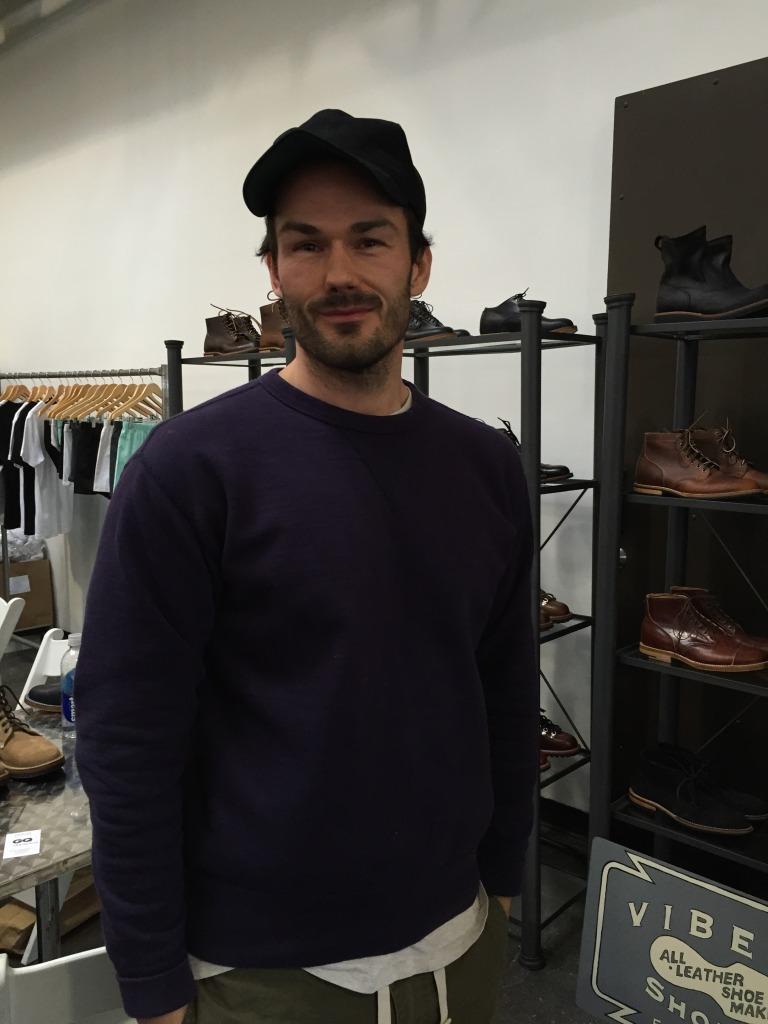 Guy Ferguson from family-run Viberg Shoe Co.