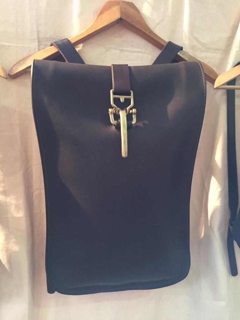 Handmade leather bags from Kika NY
