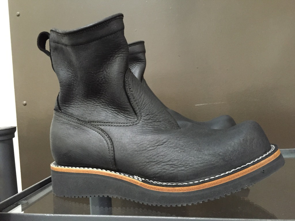 Viberg Shoe Co. cleaned up biker/engineer boot