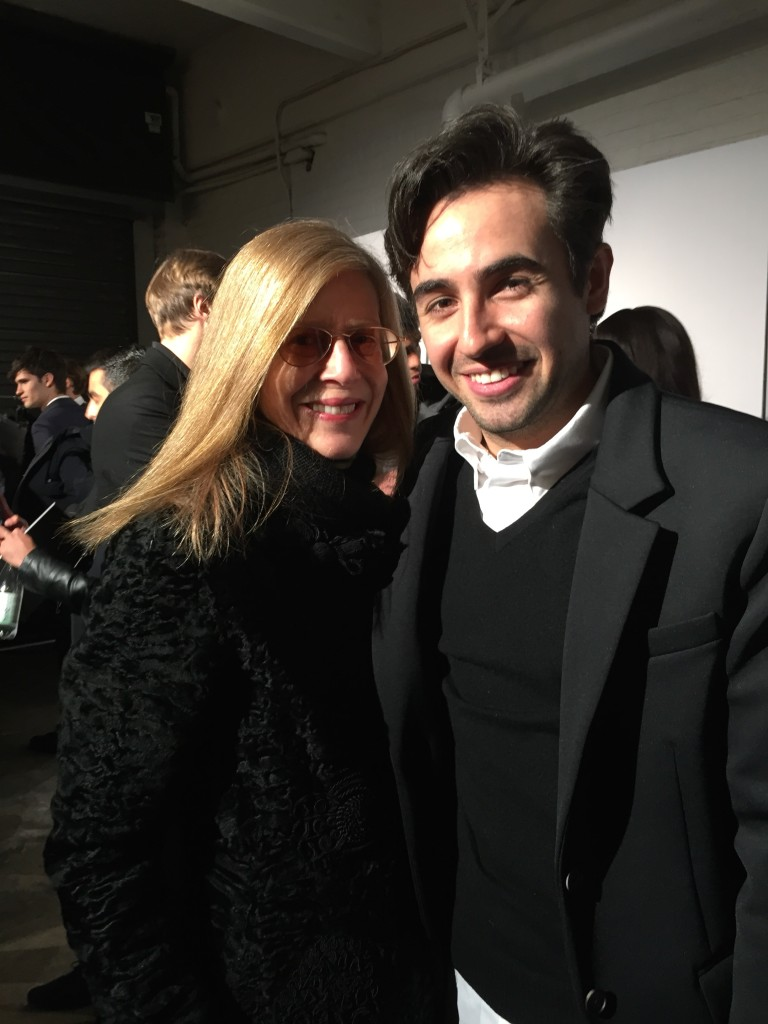 Designer GarciaVelez with Joh Siff