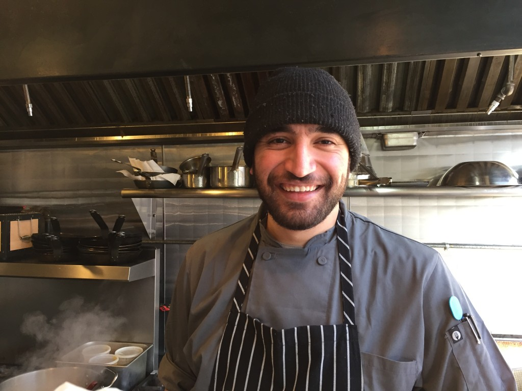 Owner chef Ali