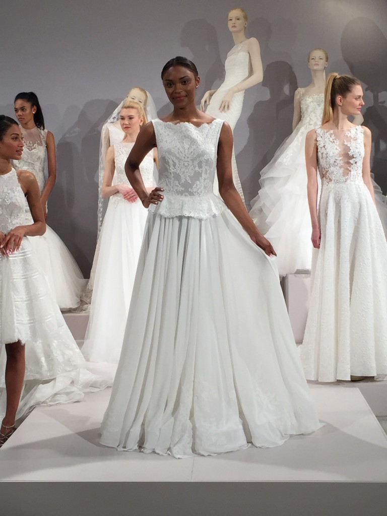 Tony Ward's Kleinfeld debut for Bridal 2016