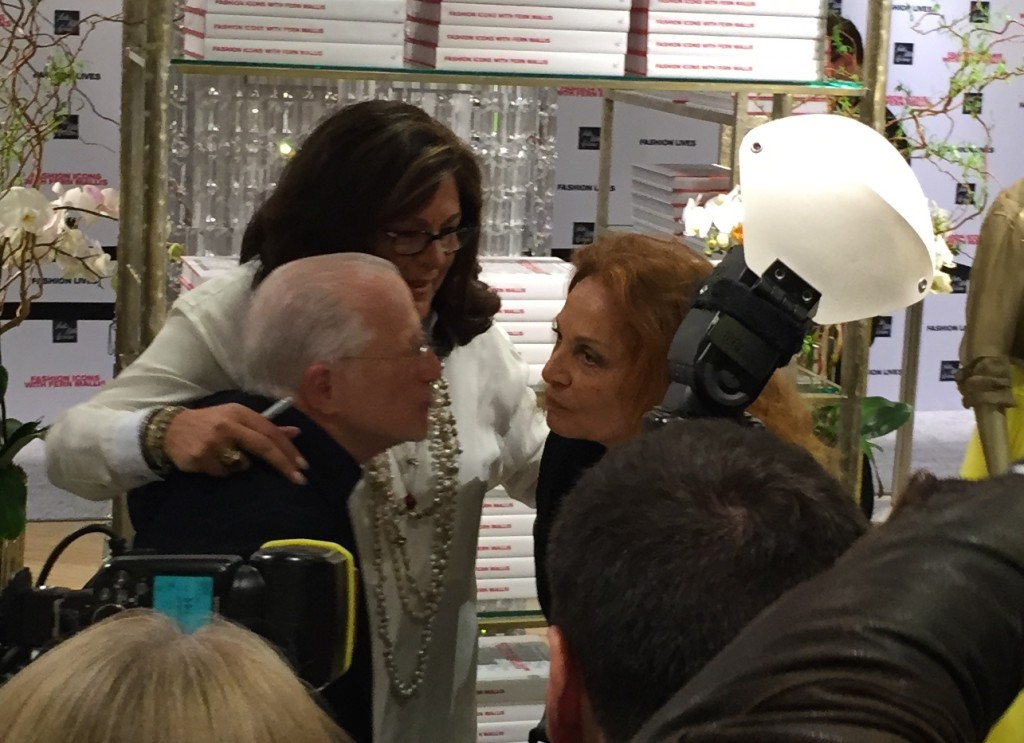 Stan Herman and Diane Von Furstenberg