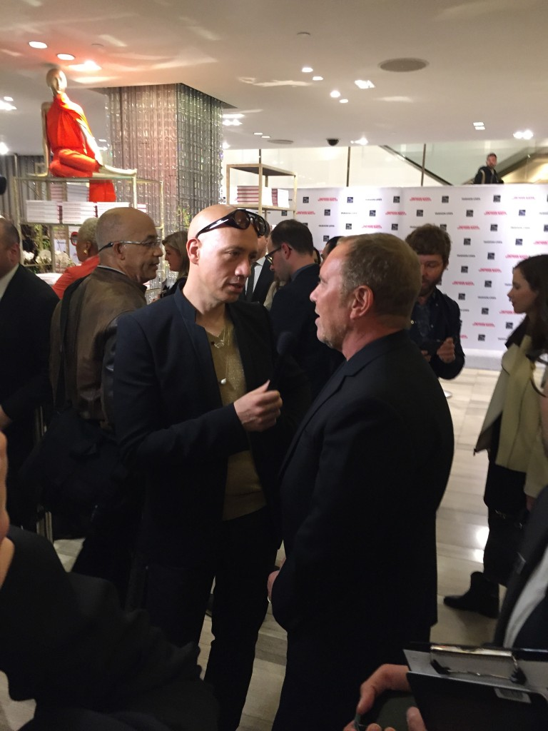Robert Verdi interviewing Michael Kors