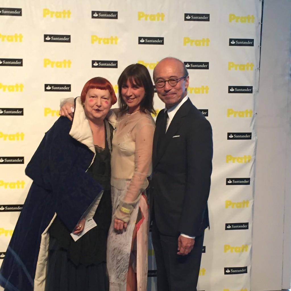 Lynn Yaeger, Jennifer Minitti and Harold Koda
