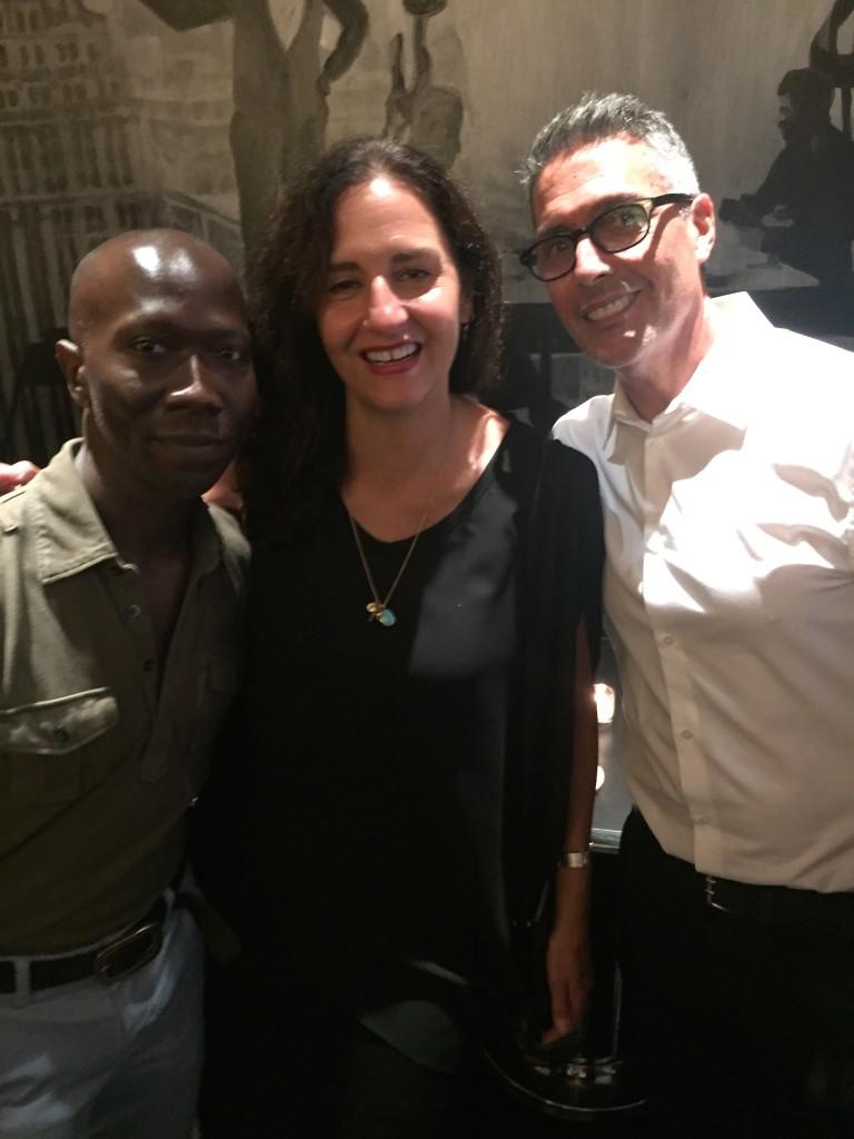Singer Boice-Terrel Allen, Andrea Ratimorszky and newcomer John Natale