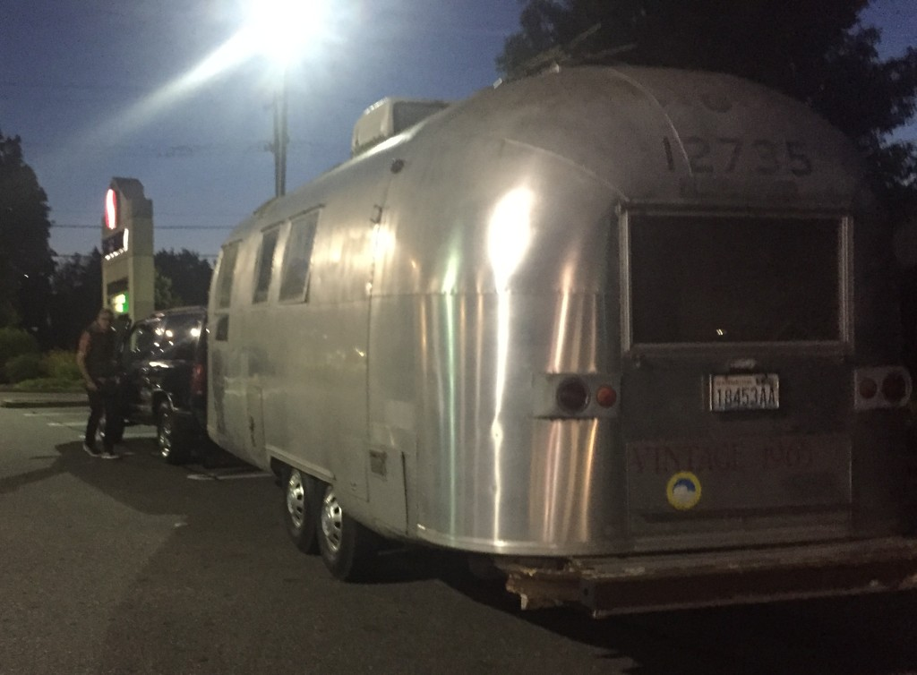 Airstreamin': heading out from Seattle at 3:30 a.m.