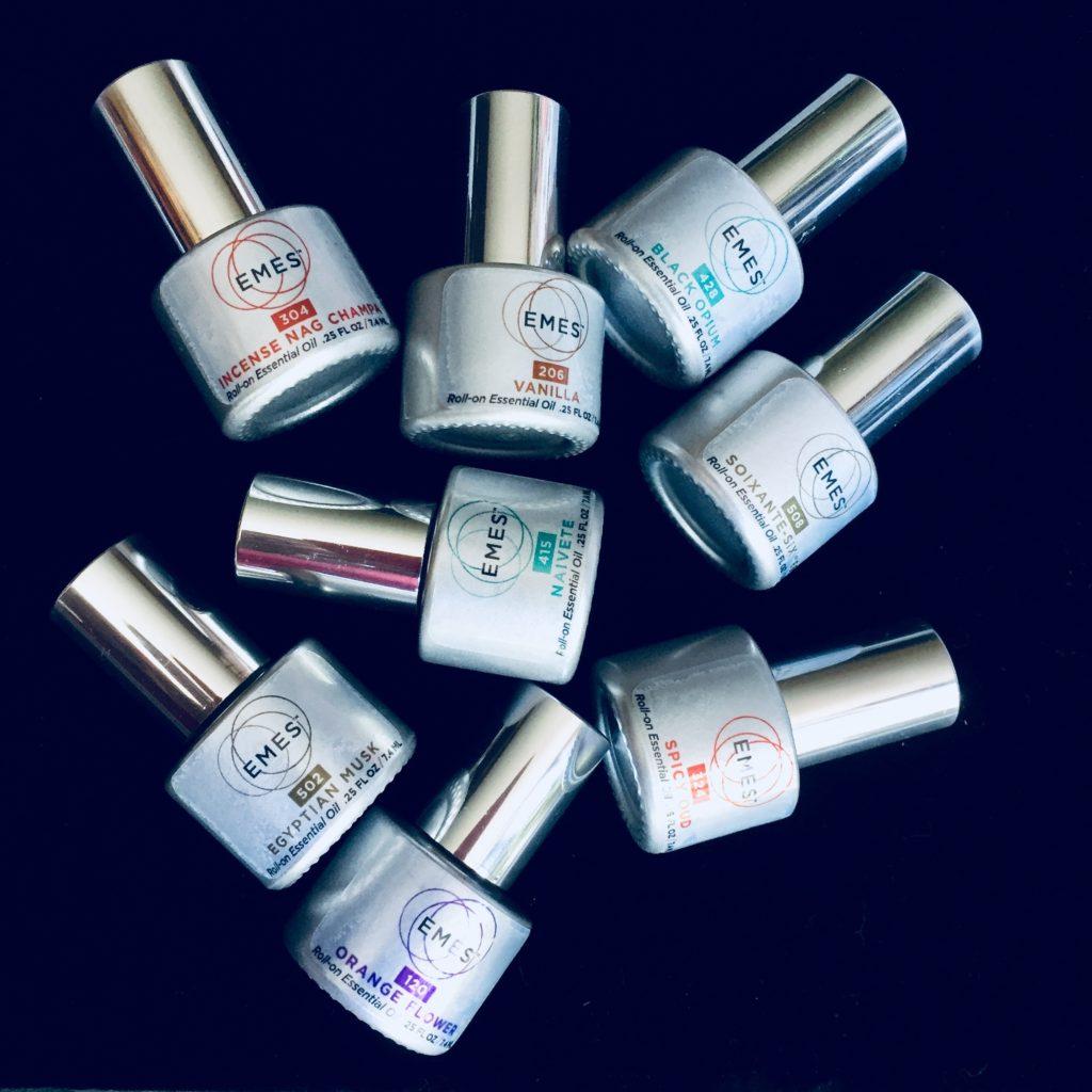 Essential perfume oils